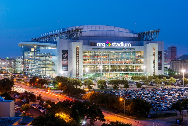 Picture of stadium in Texas